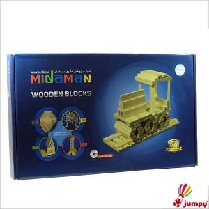 بلوک چوبی 100 قطعه