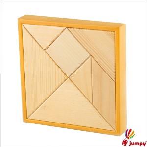تنگرام جعبه چوبی
