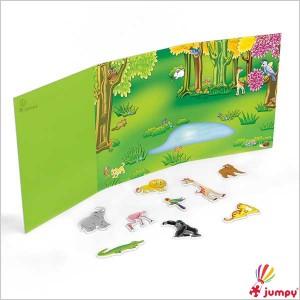 جورچین کتابی حیوانات جنگل