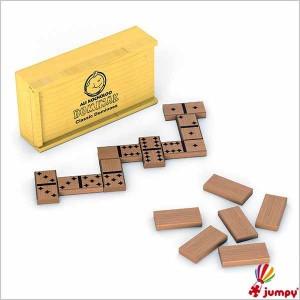 دومینو کلاسیک جعبه چوبی