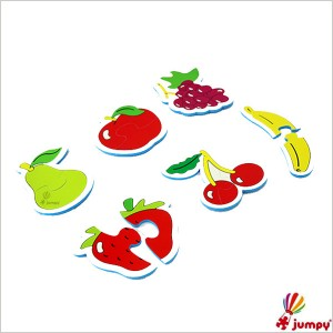 پازل دو تکه شناخت  میوه ها