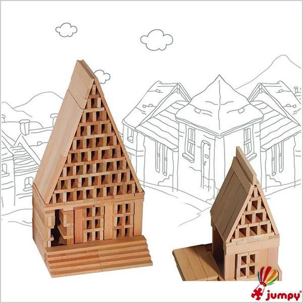 بلوک چوبی 500 قطعه