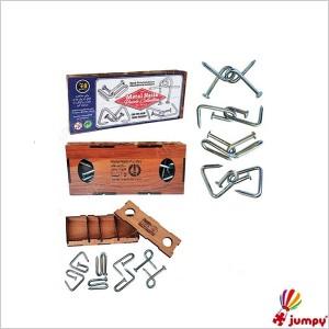 میخ های جادویی جعبه چوبی