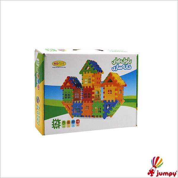 بلوک های خانه سازی 48 قطعه